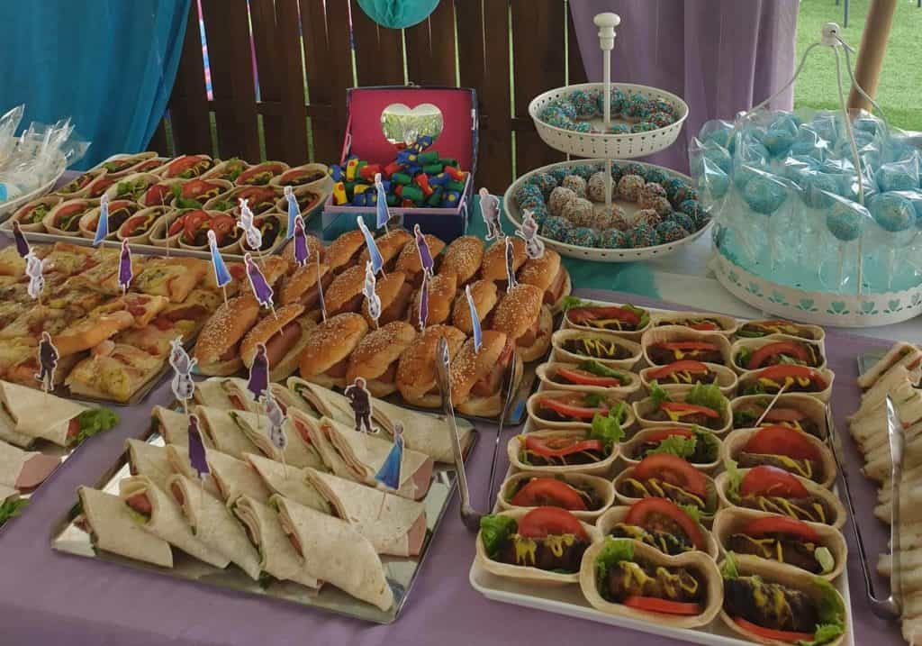 catering for baptism