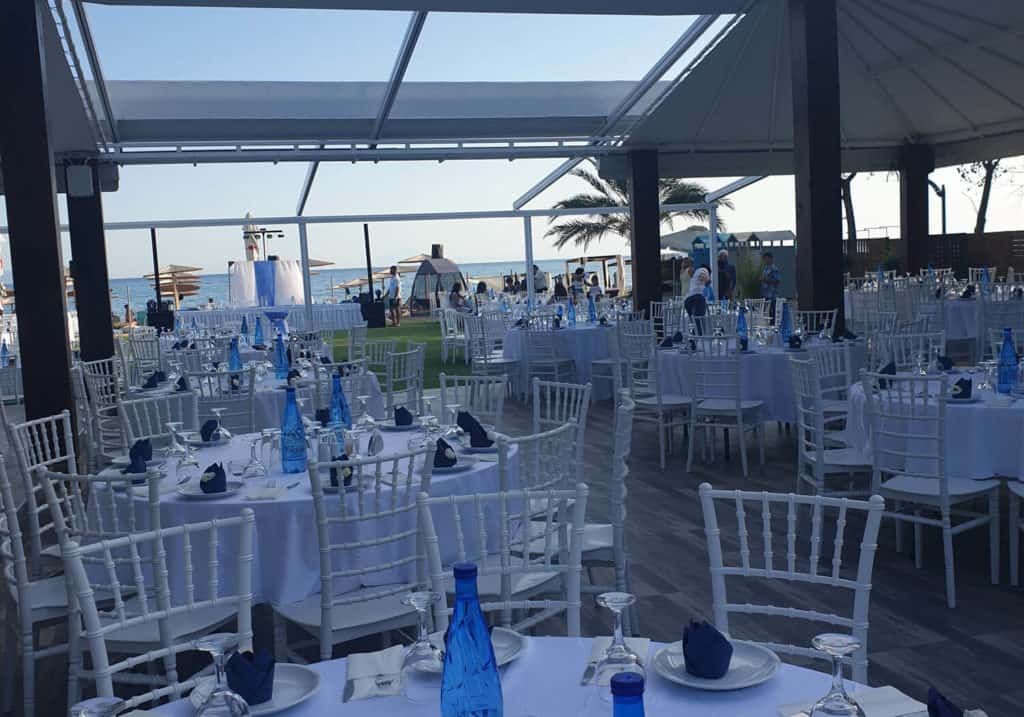 wedding event in vranas resort