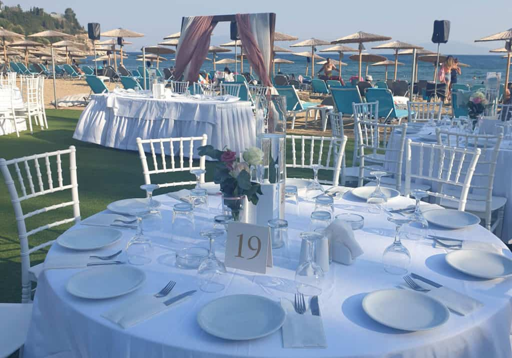 wedding event in vranas resort