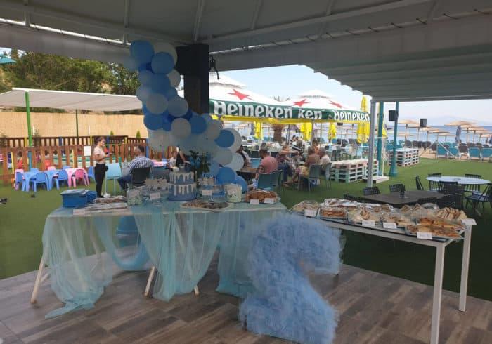 στολισμός γενεθλίων vranas resort