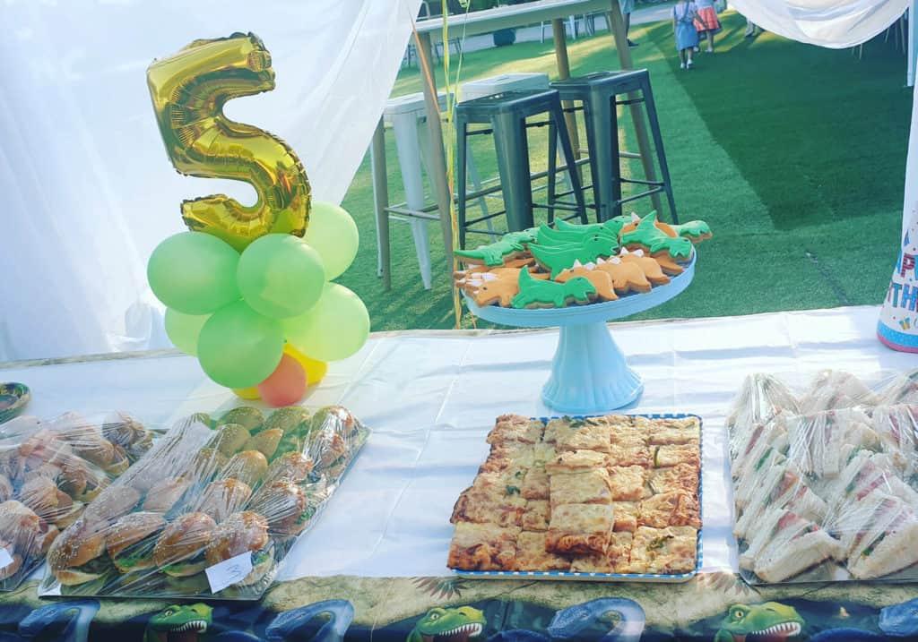 πάρτι γενεθλίων στο vranas resort