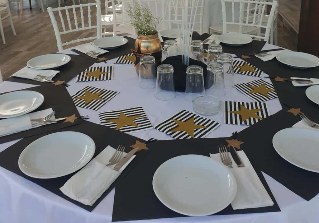στολισμένο τραπέζι βάφτισης στο vranas resort