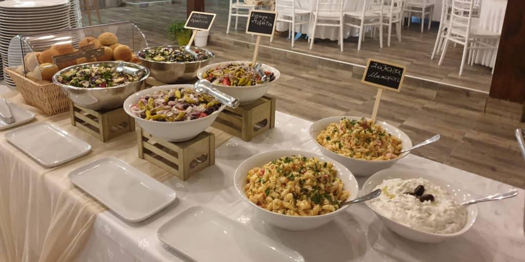οργάνωση catering vranas resort