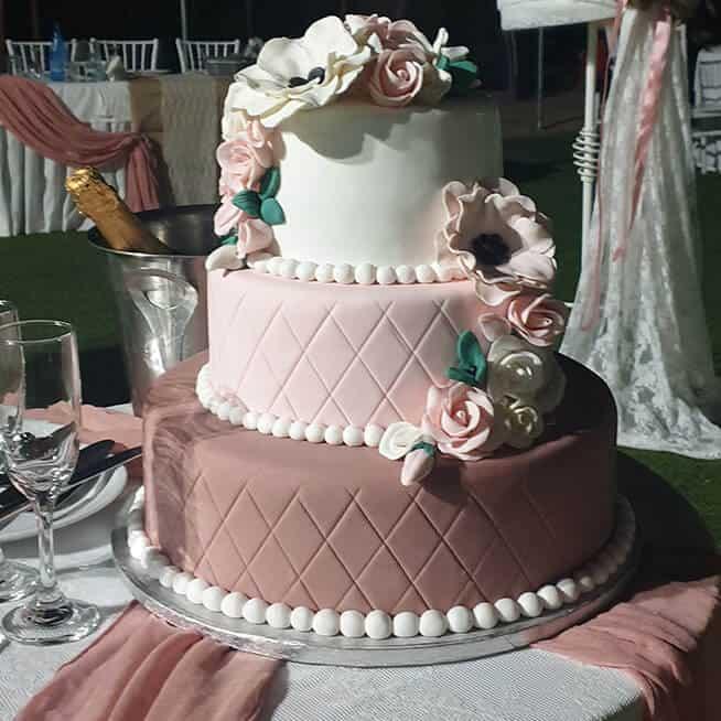 τούρτα δεξίωσης γάμου