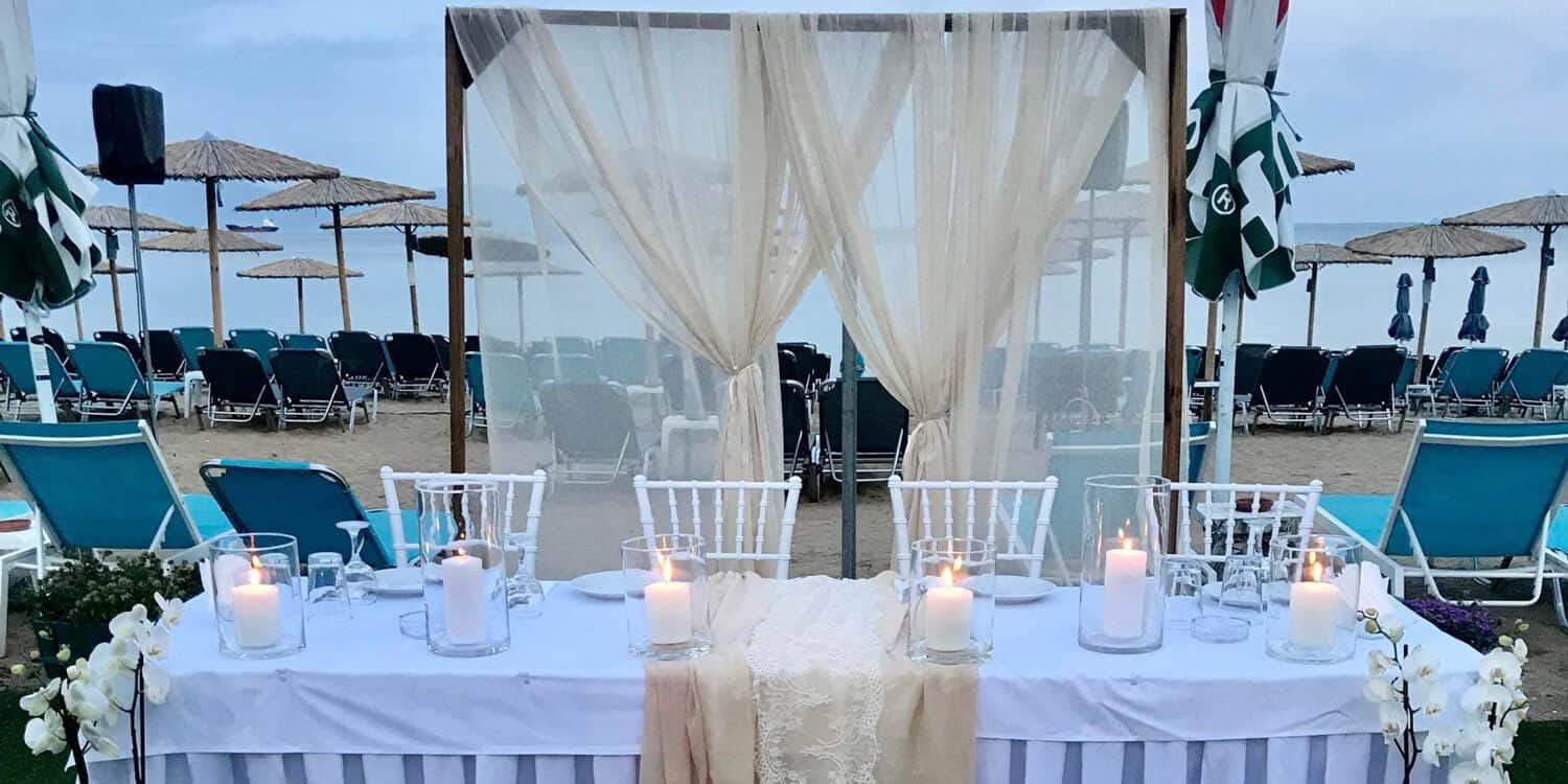 vranas resort wedding table