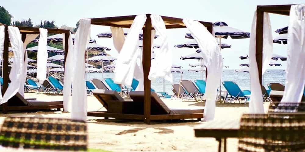 παραλία vranas resort
